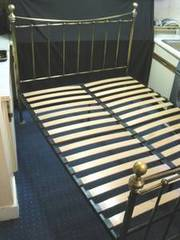Dreams Antique Brass King Bed Frame-£100