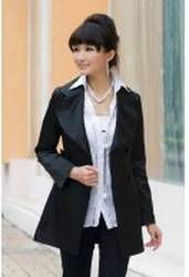 Deep Gray Knitting Casual Opening Coat for $14.75