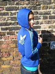 ADIDAS ORIGINALS Adicolor Women's Blue Zip Hoody