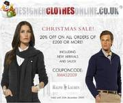 Designer Clothes Christmas Sale