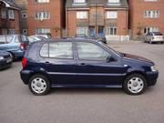 Volkswagen Polo 1.4 S 16V 75BHP 5DR Blue 2001 (2001)