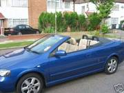 2004 Vauxhall Astra 1.8 Convertible - Heated Leather 29k on Clock
