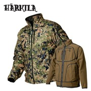 Harkila Q Fleece Reversible Optifade Forest Camouflage Jacket